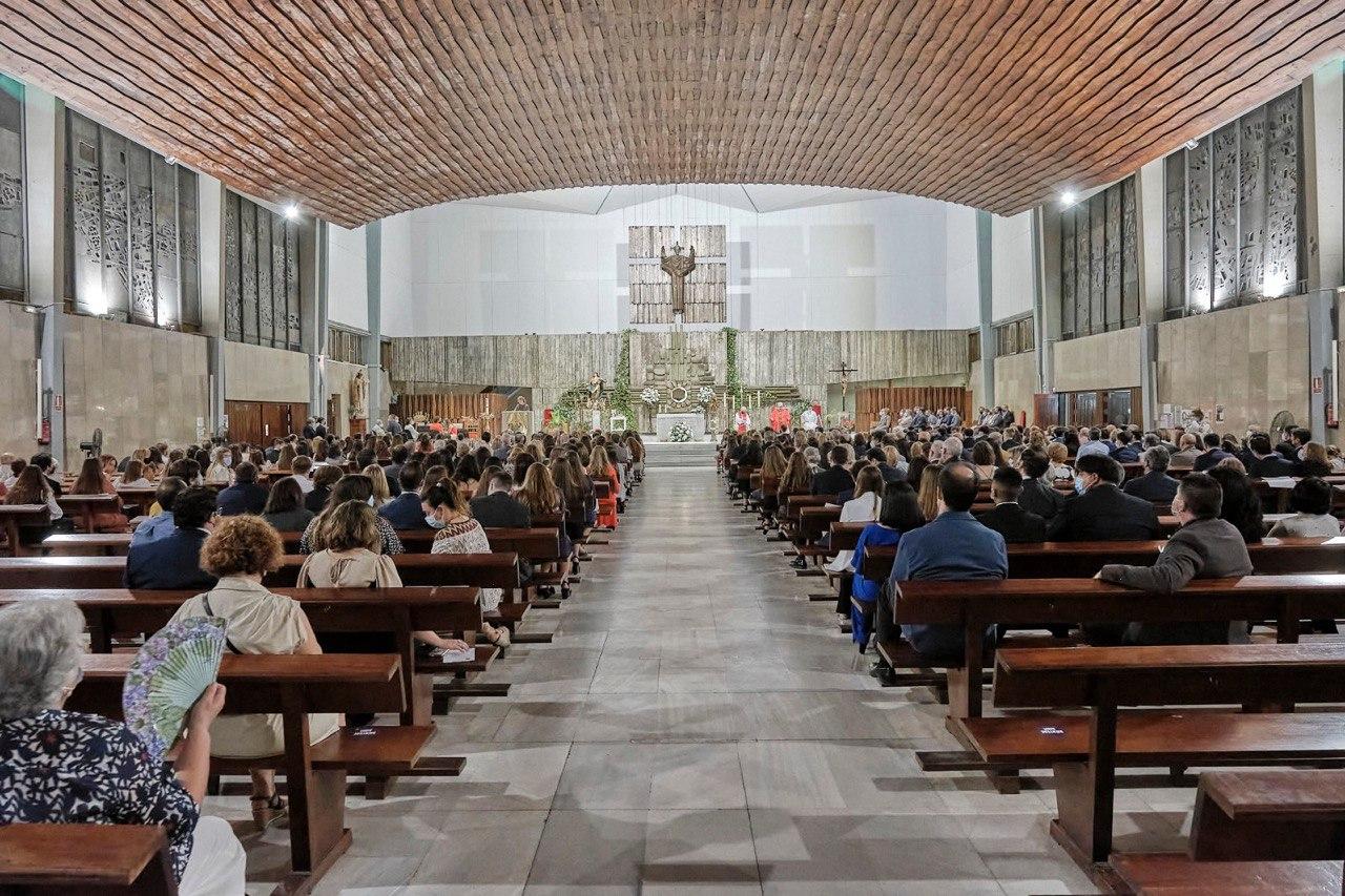 Celebración del sacramento de la Confirmación 2021